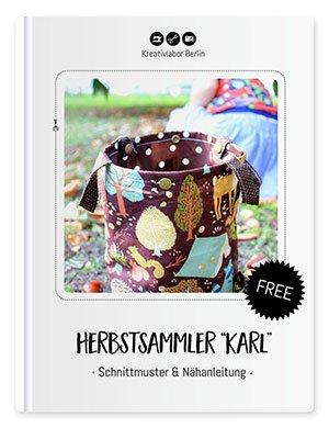 """Beitragsbild für das kostenlose Schnittmuster """"Herbstsammler """"Karl"""""""" von Kreativlabor Berlin."""