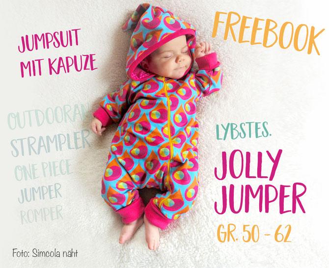baby strampler jolly jumper gr 50 62 von lybstes free patterns. Black Bedroom Furniture Sets. Home Design Ideas