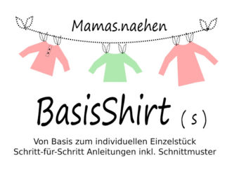 Titelbild für Schnittmuster BasisShirt von Mama Nähblog