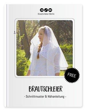 Beitragsbild für das Schnittmuster eines Brautschleiers von Kreativlabor Berlin.