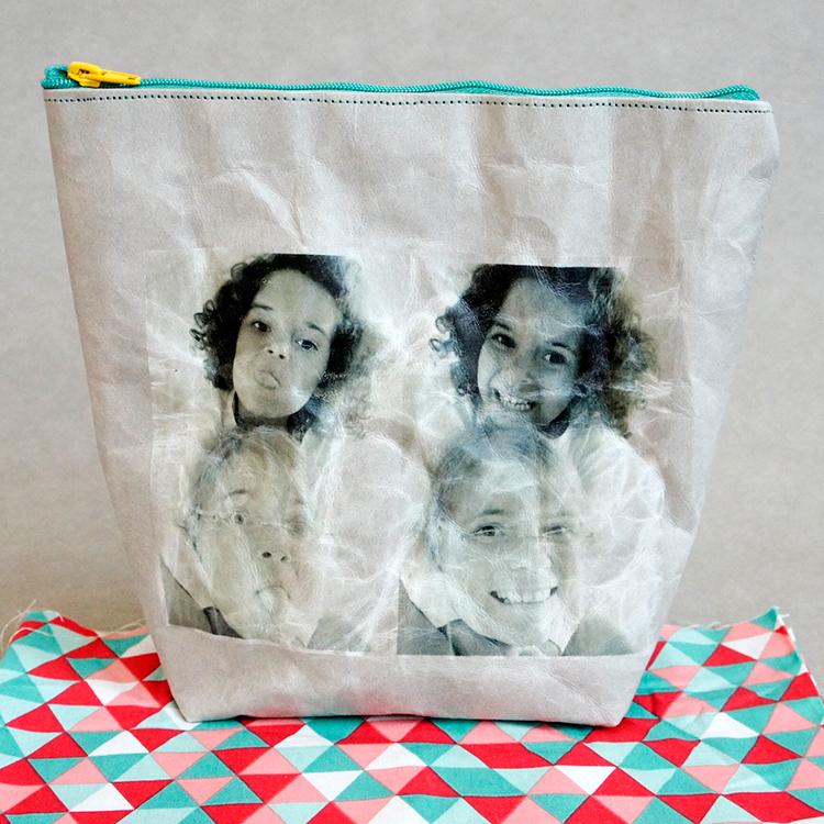 Schnittmuster der Kosmetiktasche aus SnapPap von Frau Scheiner - Mit tollen Fotoaufdruck!