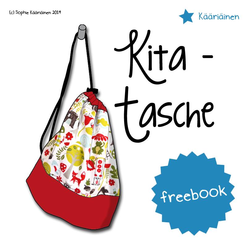 Beitragsbild für das kostenlose Schnittmuster der Kita-Tasche von Näähglück.
