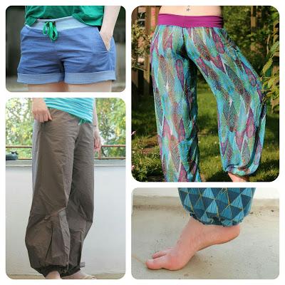 Hosen (Damen) | Kostenlose Schnittmuster, Nähmagazin & Co rund ums Nähen