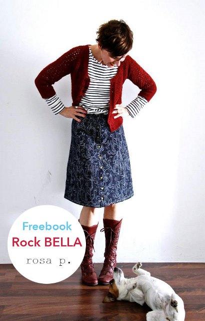 Schnittmuster Rock BELLA von Lillestoff - Ein Basic Teil mit vielen Optionen!