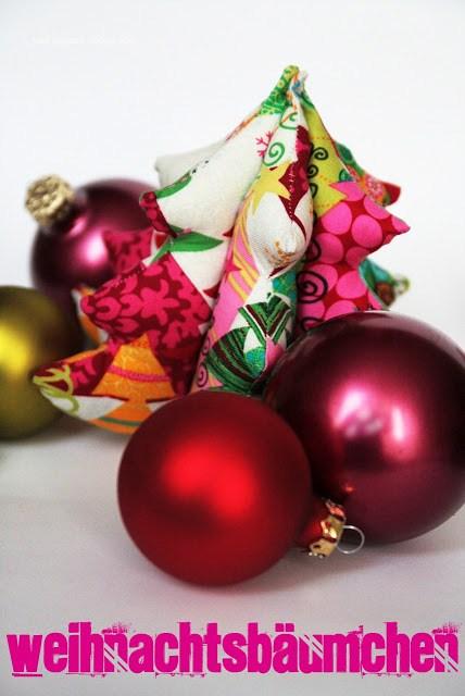 Stoffweihnachtsbaum genäht nach dem Schnittmuster von Was eigenes.