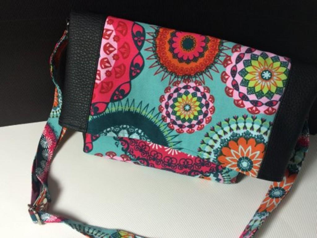 Kostenloses Nähtutorial für die Falt-Tasche Andrea von Selbernähen.net