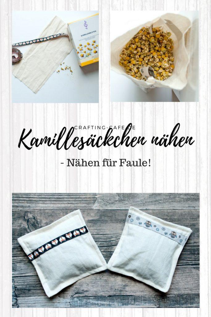 """Titelbild für Beitrag """"Kamillesäckchen nähen von The Crafting Café""""."""