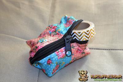 Kostenloses Schnittmuster für eine Patchwork-Tasche von Eva Kartoffeltiger