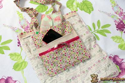Kostenloses Schnittmuster für ein Taschen-Hänge-Utensilo von Eva Kartoffeltiger