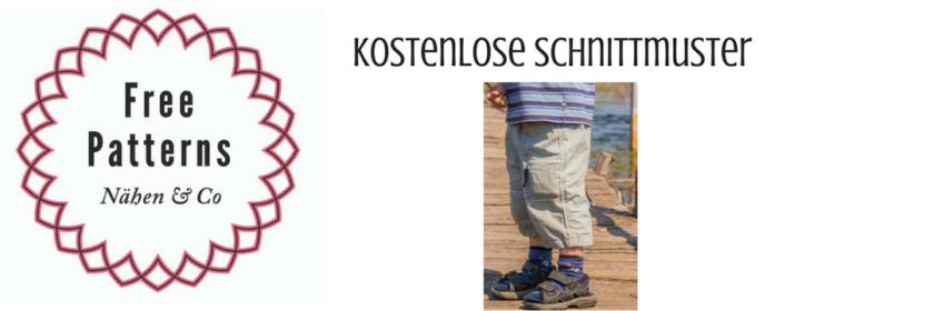 Hosen für Jungen | Kostenlose Schnittmuster, Nähmagazin & Co rund ...