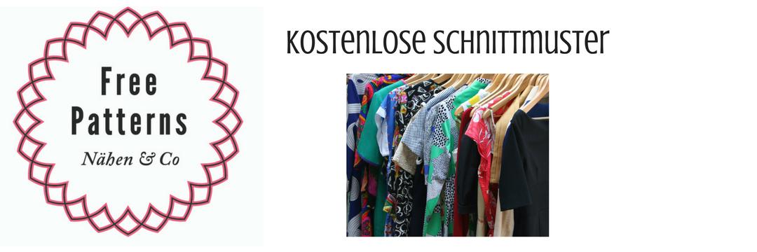 Kleidung | Kostenlose Schnittmuster, Nähmagazin & Co rund ums Nähen