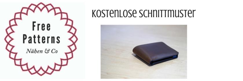 Portemonnaies   Kostenlose Schnittmuster, Nähmagazin & Co rund ums Nähen