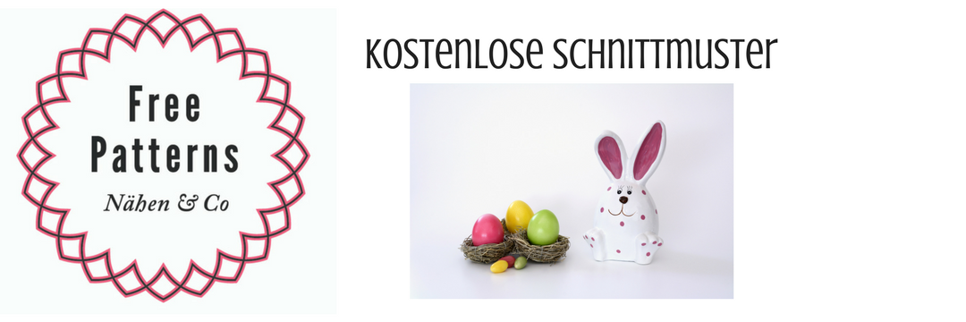 Ostern Frühling Kostenlose Schnittmuster Nähmagazin Co Rund