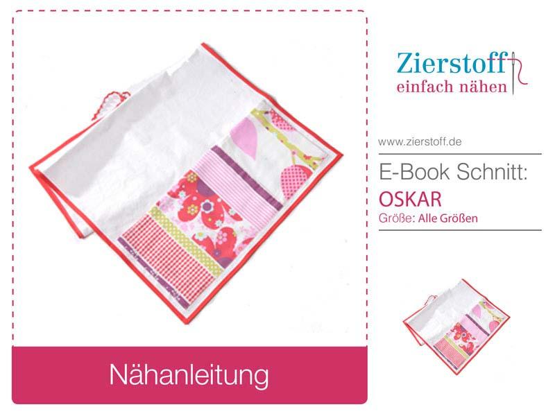"""Nähanleitung für Wickelutensilo """"OSKAR"""" von Zierstoff"""