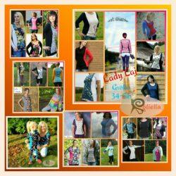 Schnittmuster Long-Shirt für Frauen von Roliella