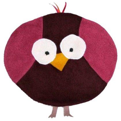 Schnittmuster Kirschkernkissen Vogel.
