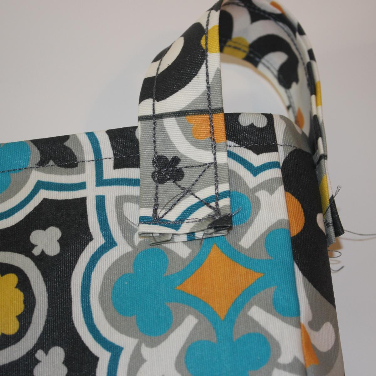Kostenlose Nähanleitung für (fast) unkaputtbare Tasche