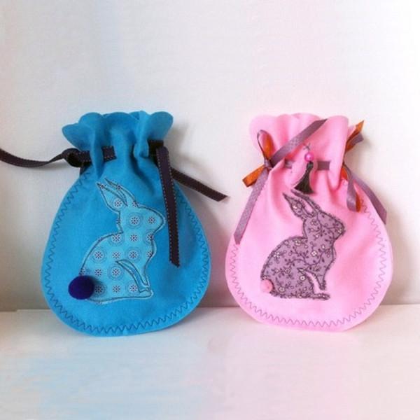 Schnittmuster für Hasen-Geschenkbeutel von Sulky – 100% kostenlos