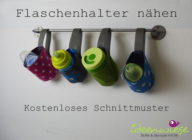Schnittmuster Flaschenhalter von Ideenwiese – 100% kostenlos