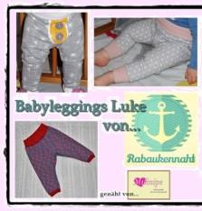 """Kostenloses Schnittmuster Babyleggings """"Luke"""" (Gr. 56-92) von Rabaukennaht"""