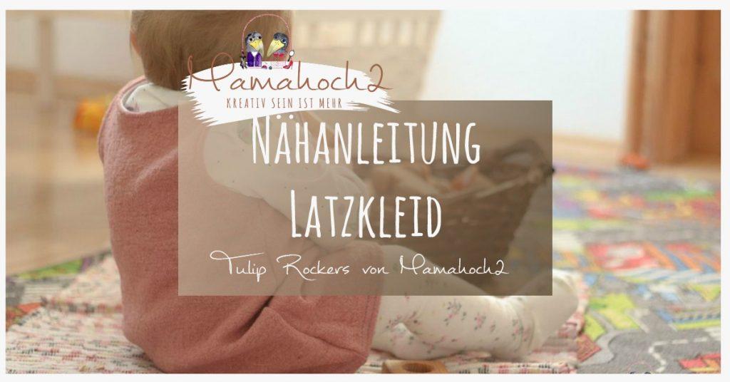 "Gratis Schnittmuster Latzkleid ""Tulip Rockers"" (Gr. 62-152) von Mamahoch2"