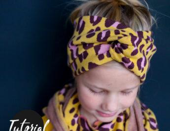 Nähanleitung für Bandeau-Haarband für Sommer und Winter von Kid5